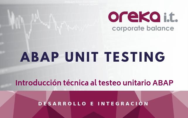Introducción técnica al testeo unitario ABAP – ABAP UNIT TESTING