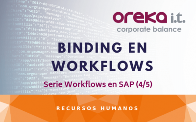 Binding en Workflow – Serie Workflows en SAP (4/5)