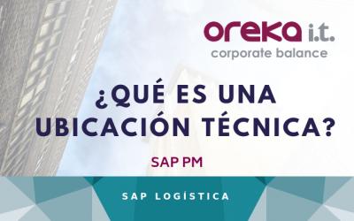 ¿Qué es una Ubicación técnica en SAP PM?