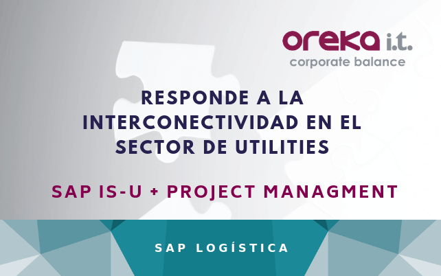 Responde a la interconectividad en el sector de utilities: SAP IS-U + Project Managment