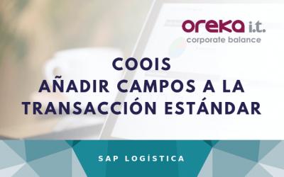 COOIS – Añadir campos a la transacción estándar – SAP PP