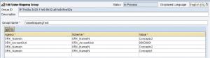 Mapeo de valores dentro del Graphical Mapping Editor en SAP PI - Ejemplo mapeo