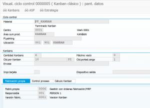 ÓRDENES DE PRODUCCION KANBAN 1 - Visualizacion de centro de control