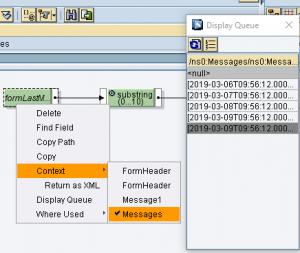 SAP PI – Tratamiento de contextos en el mapeo gráfico -nodo Messages