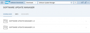 SAP Software Update Manager SUM 1.0 y SUM 2 - Software update manager