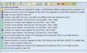 Conversión a S4 HANA, Configuraciones previas FI CO, errores más comunes (4)
