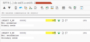 Manual Traducciones de Elementos de Texto en Reports SE63 - Textos report