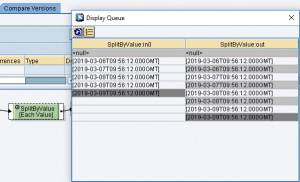 SAP PI ·Tratamiento de contextos en el mapeo gráfico funciones de nodo, each value