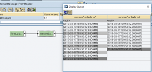 SAP PI ·Tratamiento de contextos en el mapeo gráfico funciones de nodo, removeContexts