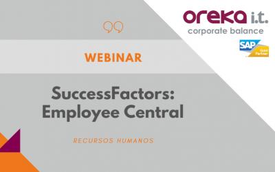 Webinar SAP SuccessFactors · Employee Central