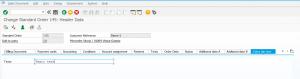 Creación de nueva pestaña en VA01 mediante BAdI - Texto test