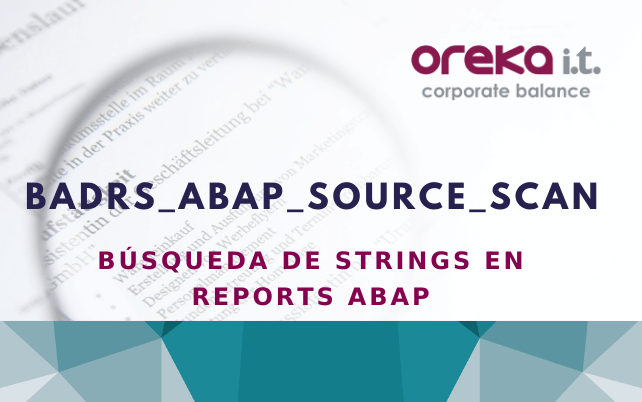 RS_ABAP_SOURCE_SCAN: búsqueda de strings en reports ABAP