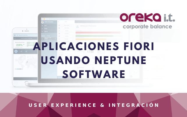 Aplicaciones FIORI usando Neptune Software