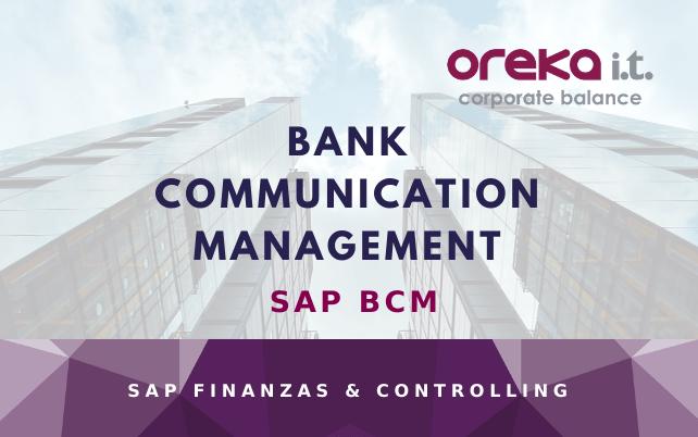SAP BCM – Bank Communication Management