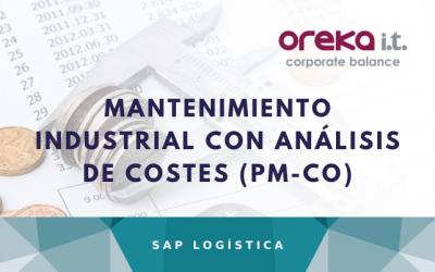 Mantenimiento industrial con análisis de costes con SAP PM y SAP CO