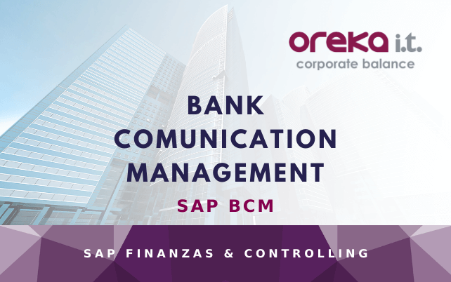 SAP BCM – Bank Comunication Management