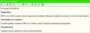 Información y parametrizaciones para materiales en MRP en HANA (5)