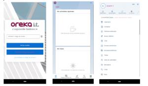 SAP Sales Cloud - vista app móvil
