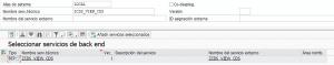Conceptos básicos sobre BBDD SAP y HANA (Parte III) - transacción IWFNDMAINT_SERVICE