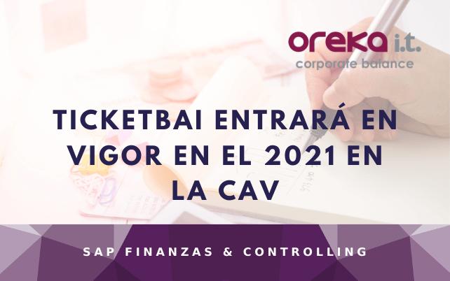 TicketBAI entrará en vigor en el 2021 en la CAV