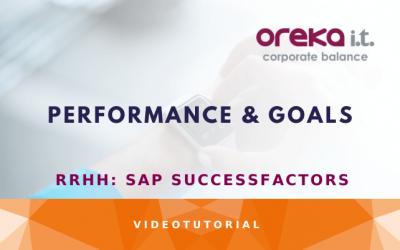 SAP SuccessFactors: performance & goals DEMO