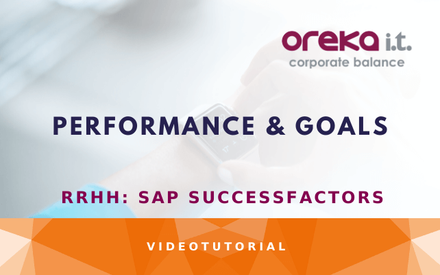 SAP SuccessFactors: performance & goals DEMO