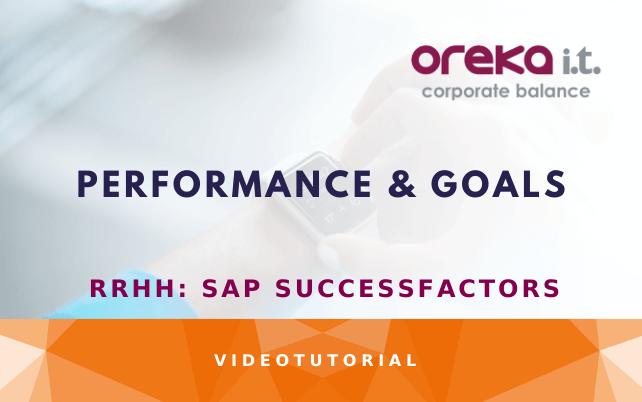 sap success factors performance and goals demo