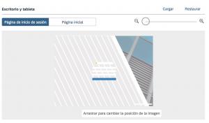 sap sales cloud - como personalizar la interfaz a la imagen corporativa - previa imagen inicial