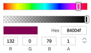sap sales cloud - como personalizar la interfaz a la imagen corporativa - seleccion color