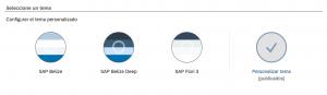 sap sales cloud - como personalizar la interfaz a la imagen corporativa - temas