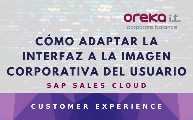 SAP Sales  Cloud: cómo personalizar la interfaz a la imagen corporativa