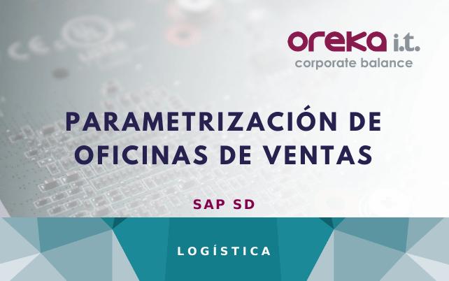 SAP SD: parametrización de oficinas de ventas