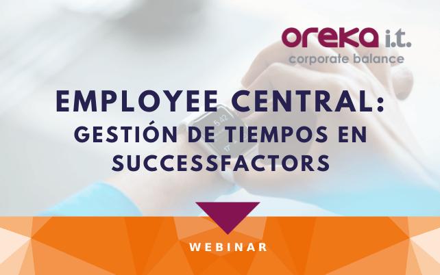 Webinar Employee Central: gestión de tiempos en SAP SuccessFactors
