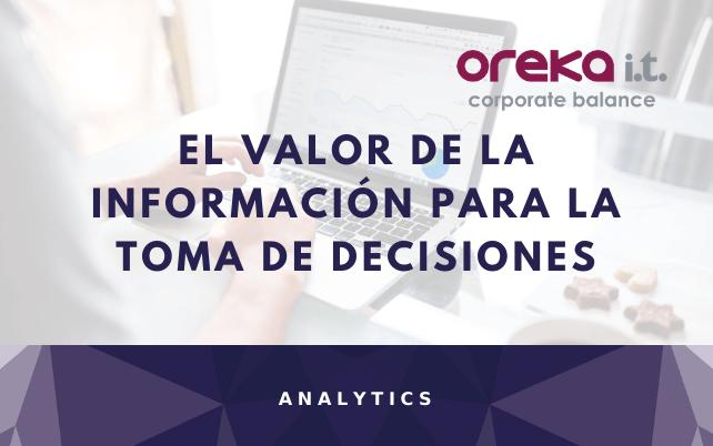Analytics El valor de la información para la toma de decisiones