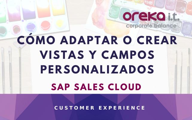 SAP Sales Cloud: cómo adaptar o crear vistas y campos personalizados