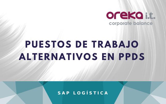 Puestos de trabajo alternativos en SAP PPDS