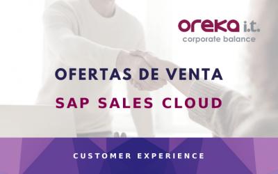 SAP Sales Cloud: ofertas de venta
