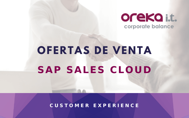 SAP Sales Cloud: ofertas de venta