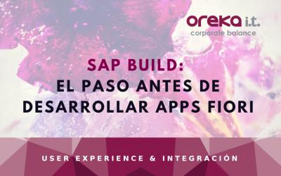 SAP Build: el paso antes de desarrollar apps Fiori