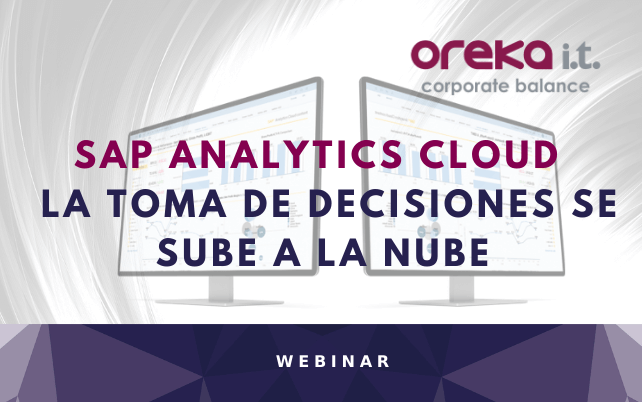 Webinar SAP Analytics Cloud: la toma de decisiones se sube a la nube