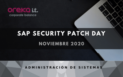 SAP Security Patch Day: noviembre 2020