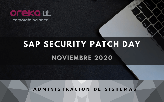 SAP Security Patch day - Noviembre