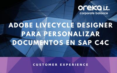 Adobe LiveCycle Designer para personalizar documentos en SAP C4C