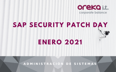 SAP Security Patch Day: Enero 2021