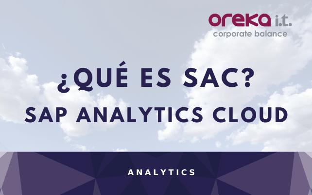 ¿Qué es SAP Analytics Cloud?