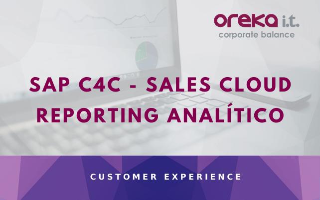 SAP C4C – SALES CLOUD: REPORTING ANALÍTICO