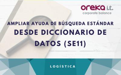 Ampliar ayuda de búsqueda estándar desde Diccionario de Datos (SE11)