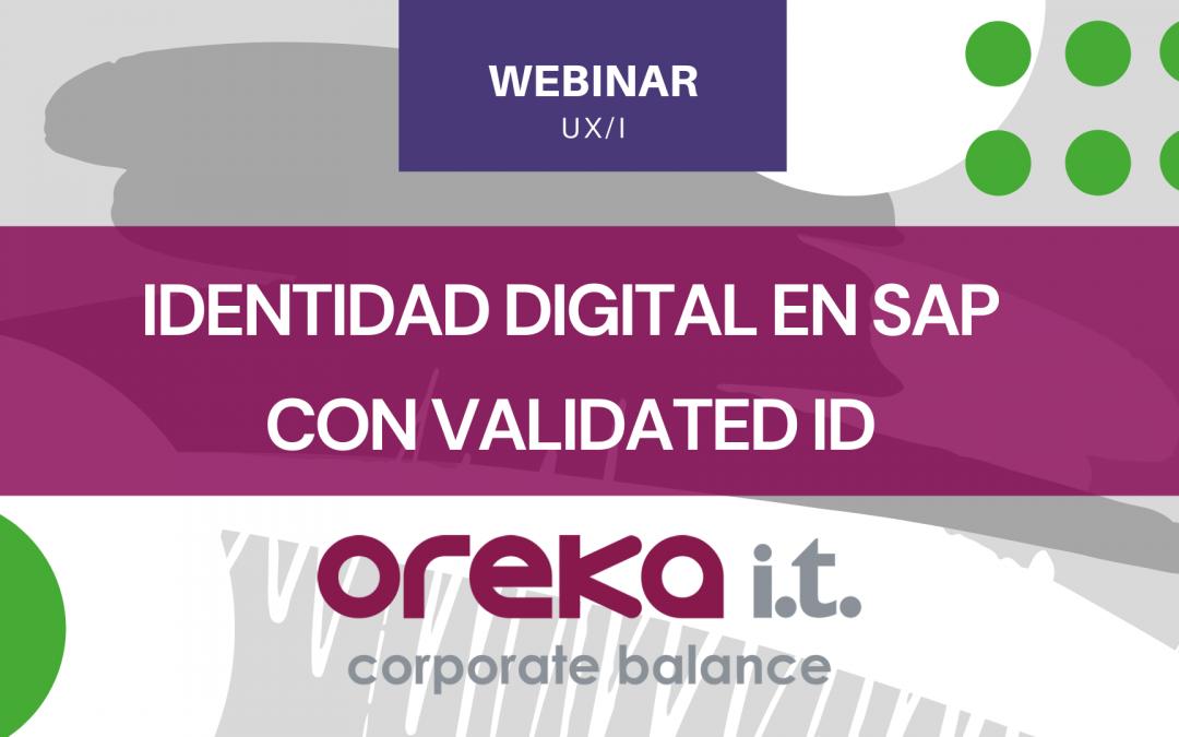 Identidad digital en SAP con ValidatedID